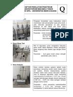 Daftar Kegunaan Dan Parameter
