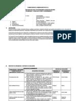 Planificación de La Unidad Didactica - Pachacutec - Ept
