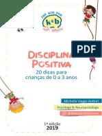 20 Dicas de 0 a 3 Anos Disciplina Positiva 1