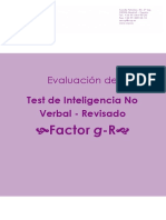 Test de inteligencia no verbal