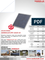 Solar Panel 15 Wp
