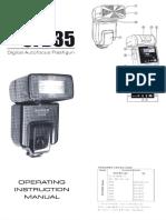 Bower SFD35C Manual