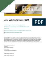 Jens Lutz Hestermann - DGM