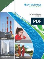 54th Annual Report 2017-18