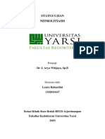 status nefrolitiasis
