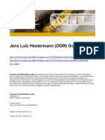 Jens Lutz Hestermann (DGM) Gold