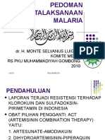 Pedoman Penatalaksanaan Malaria