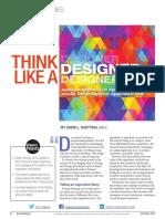think like a designer