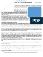 Case Study Booklet - Sample