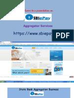 SBI EPay payment aggregator