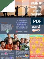 Example Brochure for Antibullying