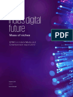 KPMG - India's Digital Future Media and Entertainment Report 2019