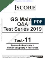 GS Mains Q&A Tet Series - 11