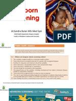 Newborn Screening PKB IDAI Papua Dr.sandra
