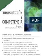 Clase 4 -Jurisdicción y Competencia-