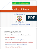 Lecture 7 Attenuation of X-rays