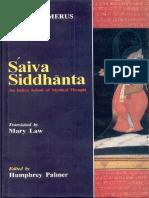 [H. W. Schomerus, Humphrey Palmer, Mary Law] Saiva(b