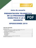 Presentación_telemática_Guia de Usuario CAS