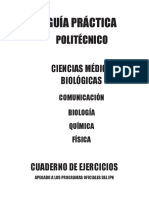 Politecnico c. Ejercicios c. Médico Biológicas