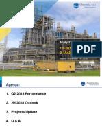 Analyst Meeting - 1H 2018 Performance
