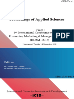 Proceedings BEMM-2018 Anglophone
