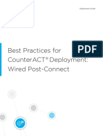 CounterACT Deployment Guide Wired Post Connect