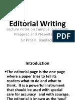 Editorial Writing