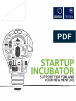 Startup Incubator Brochure July 2016 3MB