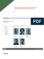 AccessTufts Leveraging DesignThinking EnterpriseArchitecture NERCOMP 3-23-2016