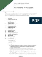 SAP Flex RE Conditions - Calculation Formula