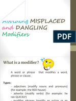 MISPLACED and DANGLING Modifiers PPT.pptx