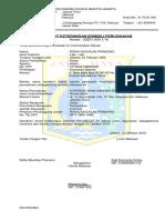 sample surat keteranagan domsili