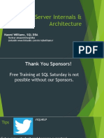 NW SQL Server Internals & Architecture Atl2017