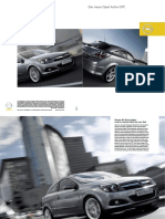 Opel Astra 3 Doors Gtc Brochure