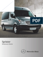 2012 Mercedes Sprinter Maintenance Manual
