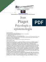 Piaget - Psicologia y epistemologia.pdf