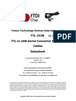 TTL RS232 cable