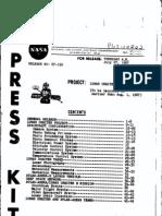Lunar Orbiter E Press Kit