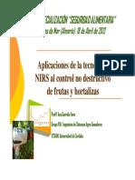 Aplicacion NIRS Al Control Frutas Hortalizas