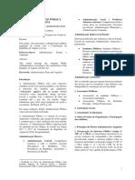 Revista n.º 15. a Administração Pública Angolana