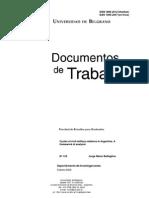 Los Circulos de Las Relaciones civico-militares. Jorge Battaglino