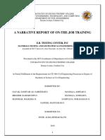 Accoplishment Report