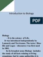 Introduction of Bio
