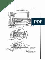 Back Wheel Patent