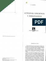 Leontiev_Actividad Conciencia y Personalidad_Editorial Cartago_SUBRAYADO