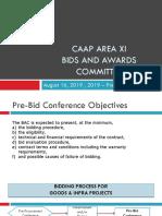 Pre-Bid for GOODS Presentation Template 2019