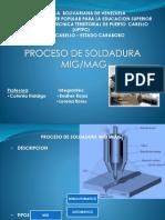 Soldadura Mig-Mag
