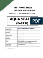 Sds - Aqua Sealer Part b (Rev.02)-English&Malay