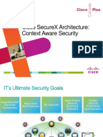 Cisco SecureX Architecture