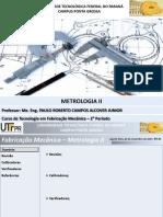 Aula 11 - Metrologia II